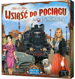 Days of Wonder Ticket to Ride Polska – Bordspel