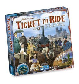 Days of Wonder Ticket to Ride France/Old West – Bordspel