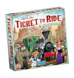 Days of Wonder Ticket to Ride Germany – Bordspel