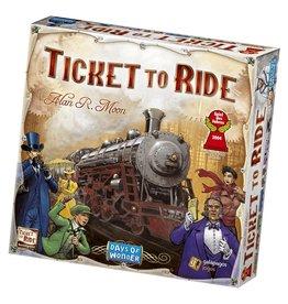Days of Wonder Ticket to Ride  English