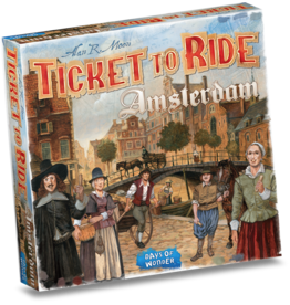Days of Wonder Ticket to Ride Amsterdam – Bordspel
