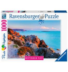 Ravensburger Ravensburger puzzel 149803 Mediterranean Places Griekenland  1000 stukjes
