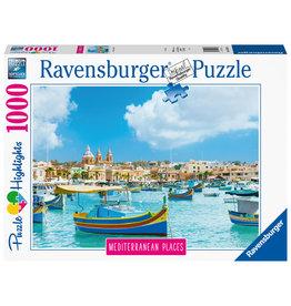Ravensburger Ravensburger puzzel 149780 Mediterranean Places Malta  1000 stukjes