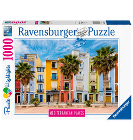 Ravensburger Ravensburger puzzel 149773 Mediterranean Places Spain  1000 stukjes