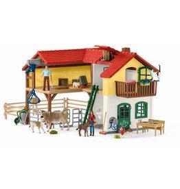 Schleich Schleich Farm World 42407 Boerderij met Stal en Dieren