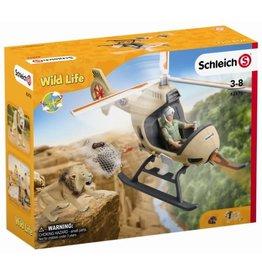 Schleich Schleich Wild Life 42476 Reddingshelikopter Dieren