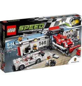 LEGO LEGO Speed Champions  75876  Porsche 919 Hybrid en 917K pitstraat