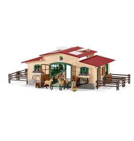 Schleich Schleich Farm World 42195 Paardenstal met Accessoires