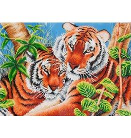 Diamond Dotz Diamond Dotz Tender Tigers  52x37