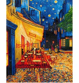 Diamond Dotz Diamond Dotz  Cafe at Night Van Gogh