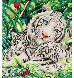 Diamond Dotz Diamond Dotz White Tiger en Cubs