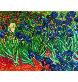 Diamond Dotz Diamond Dotz:  lrises Van Gogh  71x56