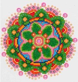 Diamond Dotz Diamond Dotz Flower Mandala  20x25cm