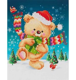 Diamond Dotz Diamond Dotz Snow Dance  27X35cm