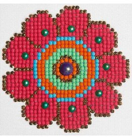 Diamond Dotz Diamond Dotz Flower Power 10x10cm