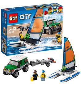 LEGO LEGO City 4X4  met  Catamaran  60149