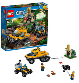 LEGO LEGO City Jungle Missie met Halfrupsvoertuig - 60159