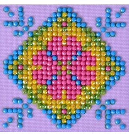 Diamond Dotz Diamond Dotz  Patchwork Mandala 2  7 X 7 cm