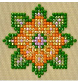 Diamond Dotz Diamond Dotz Flower Mandala 1  7 X 7 cm