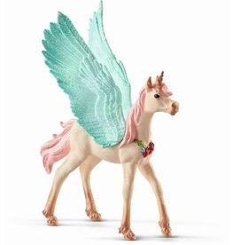 Schleich Schleich Bayala 70575 Versierde Eenhoorn Pegasus Veulen