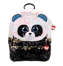 Ty Fashion Ty Fashion Rugzak Square Bamboo Panda 33cm