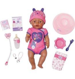 Zapf Baby Born Soft Touch Babypop Meisje Bruin (43 cm)