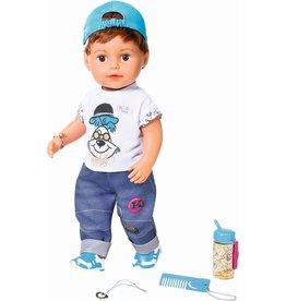 Zapf Baby Born Soft Touch Babypop Broer Bruin (43 cm)