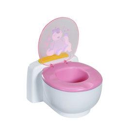 Zapf Baby born Bath Poo-Poo Toilet