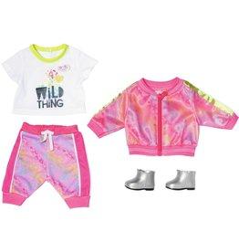Zapf Baby Born Trendy Roze Set Deluxe