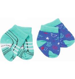 Zapf Baby Born Sokken Trend 2-Pack: Blauw