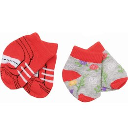 Zapf Baby Born Sokken Trend 2-Pack: Rood