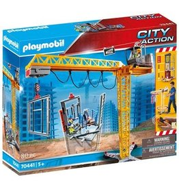 Playmobil PLAYMOBIL City Action 70441 RC bouwkraan met bouwonderdeel