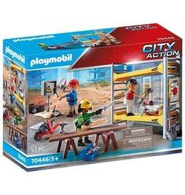 Playmobil Playmobil City Action 70446  Stelling Werklieden