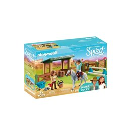 Playmobil Playmobil Spirit 70119 Arena Met Lucky En Javier