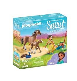 Playmobil Playmobil Spirit 70122 Pru met Paard en Veulen