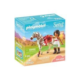 Playmobil Playmobil Spirit 70123 Voltige, Solana En Luna