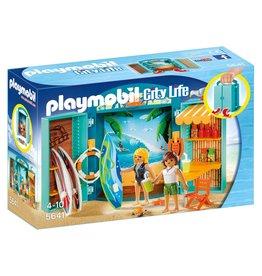 Playmobil Playmobil City Life  5641 Speelkoffer Surfshop