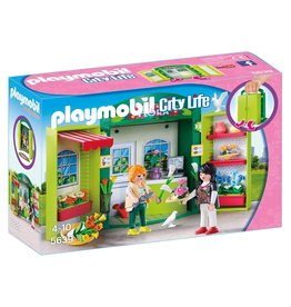 Playmobil Playmobil City Life 5639 Speelkoffer Bloemenwinkel