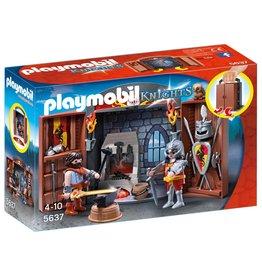 Playmobil Playmobil City Life 5637 Speelkoffer Ridder En Smid