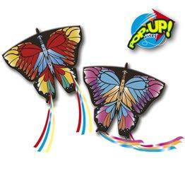 Rhombus Rhombus pop-up vlieger 3-D Butterfly