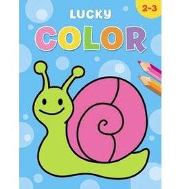 Uitgeverij Deltas Kleurboek Lucky Color (2-3Jr)