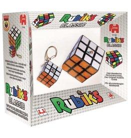 Jumbo Jumbo Rubik'S 2 In 1 (3X3 Kubus + Sleutelhanger)