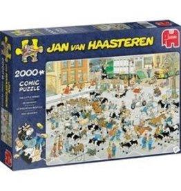 Jumbo Jumbo puzzel Jan van Haasteren 19078  De Veemarkt   2000 stukjes