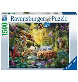 Ravensburger Ravensburger puzzel 160051 Idylle bij de waterplaats 1500 stukjes