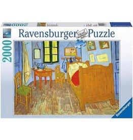 Ravensburger Ravensburger puzzel 166848 v Gogh's Slaapkamer In Arles, 1889  2000  stukjes