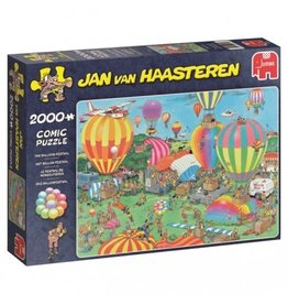 Jumbo Jumbo puzzel Jan van Haasteren  19053  Het Ballon Festival 2000 stukjes
