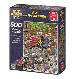 Jumbo Jumbo puzzel Jan van Haasteren17465 Verkeerschaos 500 stukjes