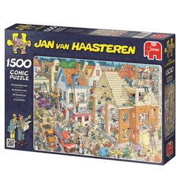 Jumbo Jumbo puzzel Jan van Haasteren 17461 De Bouwplaats 1500 stukjes