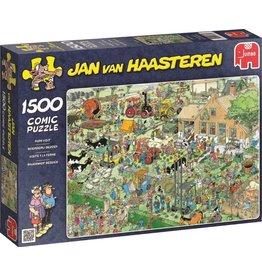 Jumbo Jumbo puzzel Jan van Haasteren 17077 Boerderij Bezoek 1500 stukjes