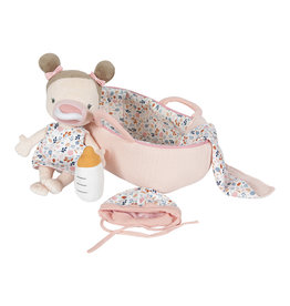 Little Dutch Little Dutch LD4528   Babypop Rosa  met reiswieg